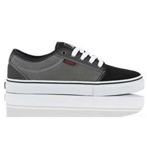 Adio Sydney Suede Shoes - Charcoal / Black